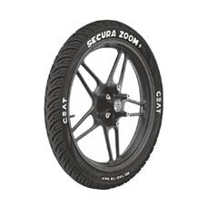 Buy CEAT SECURA ZOOM Plus TubelessTyres 80/100 R 18   Online at low cost
