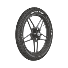 Buy CEAT CEAT Secura ZOOM F TL TubelessTyres 90/90 R 17   Online at low cost