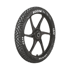 Buy CEAT Zoom F TL TubelessTyres 90/90 R 17   Online at low cost