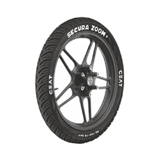 Buy CEAT SECURA ZOOM PL Tyre for Hero Passion Online at low cost